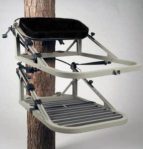 how to make a seat for a climbing tree stand