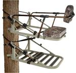 Adjustable Backrest Bar - displayed on the Equalizer® treestand